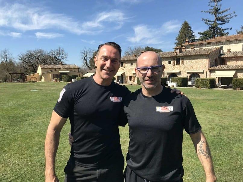 Sandro Benca e Carlo Buzzichelli